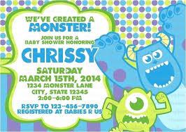 Monster Invites Mixer Party Invitations Front Invitation