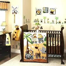 crib bedding sets for boy charming monkey animal set safari themed baby girl twins