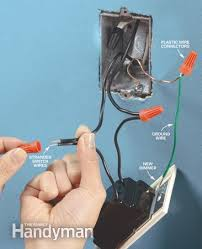 how to install a dimmer switch the family handyman photo 7 connect the wires
