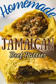 oven baked jamaican beef patties