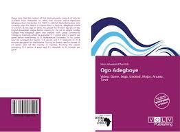 Ogo Adegboye, 978-620-1-60811-5, 6201608117 ,9786201608115