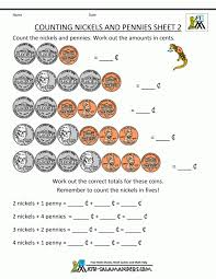 Free Printable Math Coin Worksheets Touch Counting Coins And Bills ...