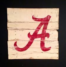 >university of alabama wall hanging alabama crimson tide sign  university of alabama wall hanging alabama crimson tide sign alabama wall art on etsy 40 00