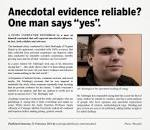 anecdotal evidence