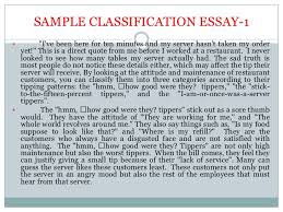 classification essay jpg cb  <br > 18 sample classification