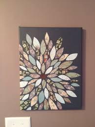 diy flower wall art pinterest