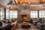Интерьеры домов с деревянной отделкой