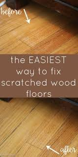 home remedies to get scratches out of wood floors