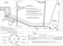 way trailer wiring diagram brakes wiring diagram and trailer wiring diagram for 4 way 5 6 and 7 circuits