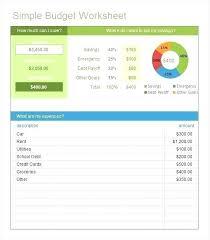 Home Budget Sheet Template