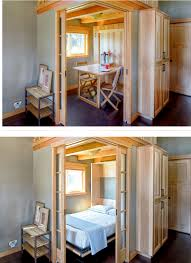 tiny house murphy bed. Wonderful House Fold Down Table And Murphy Bed Combo Certainly Not A Definite  Sure  About The Use Of Space I Do Like Idea Guest Bedroom Feeling  Inside Tiny House Bed M