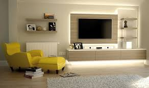 Small Picture Living Room Led Tv Wall Design With Latest Wall Unit Designs