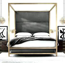 Gold Frame Bed Gold Canopy Bed Queen Gold Canopy Bed Frame Queen ...