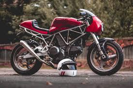 ducati 750ss cafe racer by kaspeed bikebound
