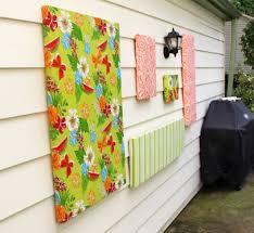 colours garden wall art