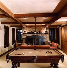 family game room family room rustic. Incredible Game Room Decorating Ideas For Handsome Family Rustic Design With Beige Wall Ceiling
