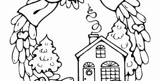 House Coloring Pages Printable Unique Coloring Pages For Christmas