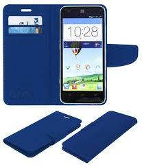 Zte Geek V975 Flip Cover by ACM - Blue ...