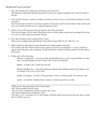file the civil war background essay answers doc