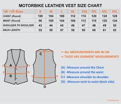 leather jacket size chart motorbike leather jacket sizes best motorbike 2018