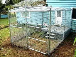 dog kennel ideas image of outdoor indoor plans