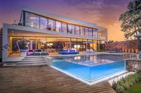 Smart Home Design Cool Blue Villa By Minimalist Interior Instagram ...