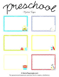 Table Labels Template Food Name Tags Template