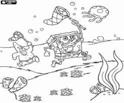 Kleurplaten Spongebob Squarepants Kleurplaat