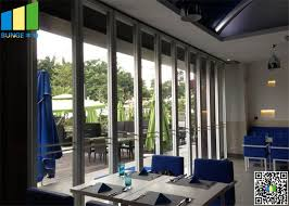 65mm glass wall partition for ping mall office demountable glass walls