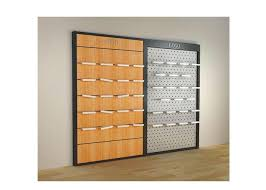 metal frame wall mounted shelf unit for shoes s customized wooden shoe display case