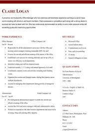 Resume Templates Two Columns Example Good Resume Template finished resume  ShareLaTeX