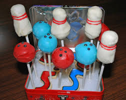 Decorated Bowling Pins Bowling Cake Pops POPSUGAR Moms 100