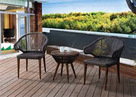 small balcony furniture. Small Balcony Furniture Rich Espresso Wicker/Rattan Outdoor Deck Hot Sell D