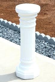 wood pedestal plant stands plant pedestal stand pedestal plant stand roman style column white plant white wood pedestal plant stands