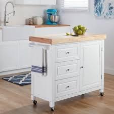 kitchen island cart. Natural Rubberwood Kitchen Island Cart N