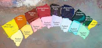 Gamblin Radiant Colors With Pigments In 2019 Art Color