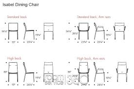 dining room furniture dimensions. dining room chair dimensions nonsensical astonishing height of chairs 23 on home design ideas 5 furniture m