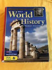 World History Patterns Of Interaction Online Textbook Best Holt World History Books EBay