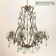mercury glass chandelier irrational 3d models ceiling light florian interior design 16