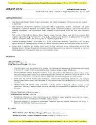 Warehouse Resume Format Warehouse Resume Format Data Warehouse