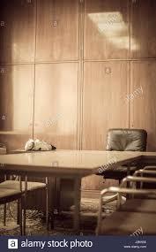50er Jahre Innenarchitektur Stuhl Und Tisch Stockfoto Bild