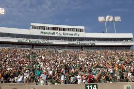 Marshall University Thundering Herd Field View Looking At