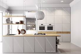 Small Picture 25 White And Wood Kitchen Ideas