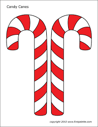 Check out these candy pictures and prepare to get sugar fever. Candy Canes Free Printable Templates Coloring Pages Firstpalette Com