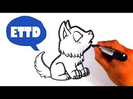 baby wolf drawing.  Wolf How To Draw A Baby Wolf Howlingcute  Easy Pictures Inside Drawing