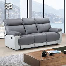 grey leather recliner. Extraordinary Bonded Leather Recliner Sofa 19 Belfast Red 3 Grey