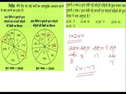 Pie Chart Practice Questions Data Interpretation In Hindi Medium Pie Chart Practice Session For Ssc Ibps Clerical Po Exam