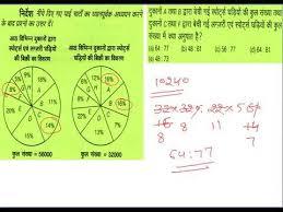 Data Interpretation In Hindi Medium Pie Chart Practice Session For Ssc Ibps Clerical Po Exam