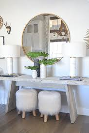 Round Entry Way Table 17 Best Ideas About Round Entry Table On Pinterest Round Foyer