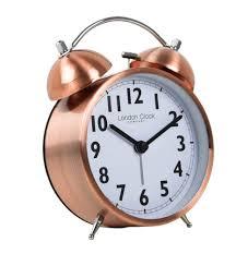 ellis copper alarm clock
